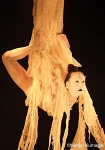 大駱駝艦『阿修羅』舞台、主演の鉾久奈緒美氏@壺中天、吉祥寺